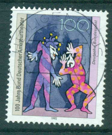 Germany 1992 Amateur Theatres FU lot61111