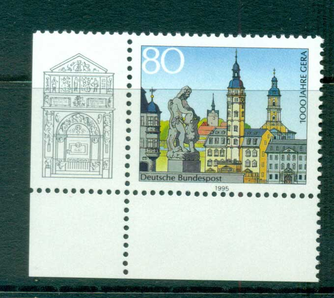 Germany 1995 Province of Gera Anniv. MUH lot63154