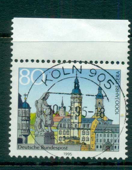 Germany 1995 Province of Gera Anniv. FU lot63155