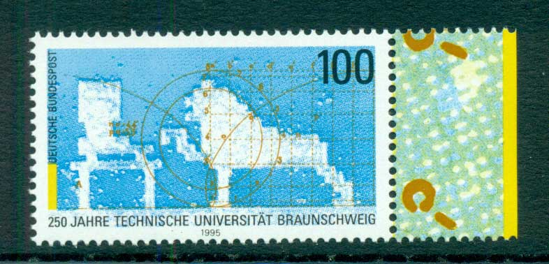 Germany 1995 Technical University MUH lot63158