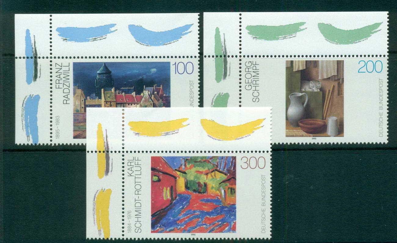 Germany 1995 Paintings MUH lot63168