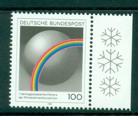Germany 1995 Climate Convention MUH lot63170