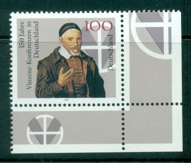 Germany 1995 Vincent Conferences Anniv. MUH lot63178