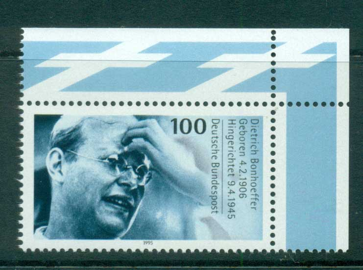 Germany 1995 Dietrich Bonhoeffer MUH lot63190