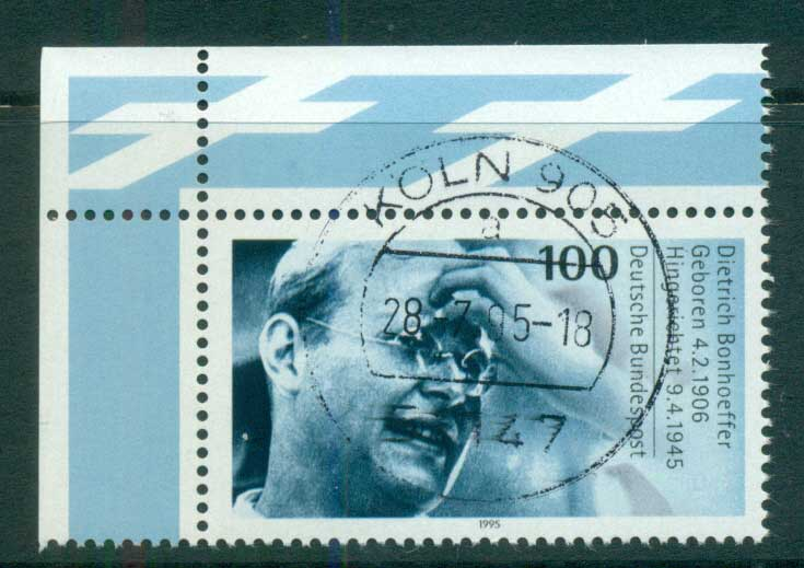 Germany 1995 Dietrich Bonhoeffer FU lot63191