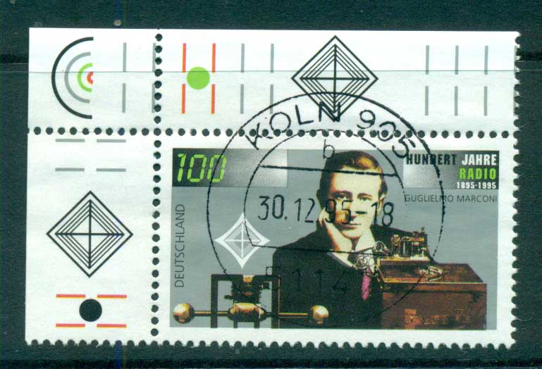 Germany 1995 Radio centenary FU lot63199