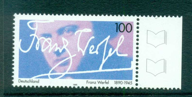 Germany 1995 Franz Werfel MUH lot63400