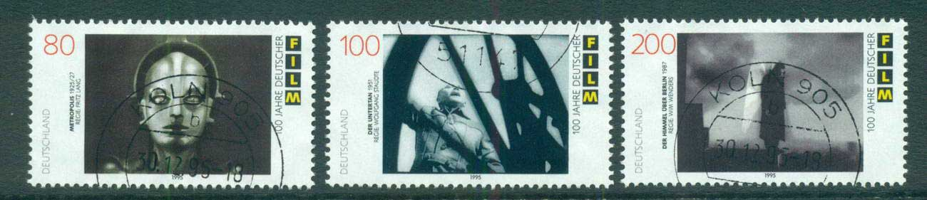 Germany 1995 German Film centenary FU lot63405