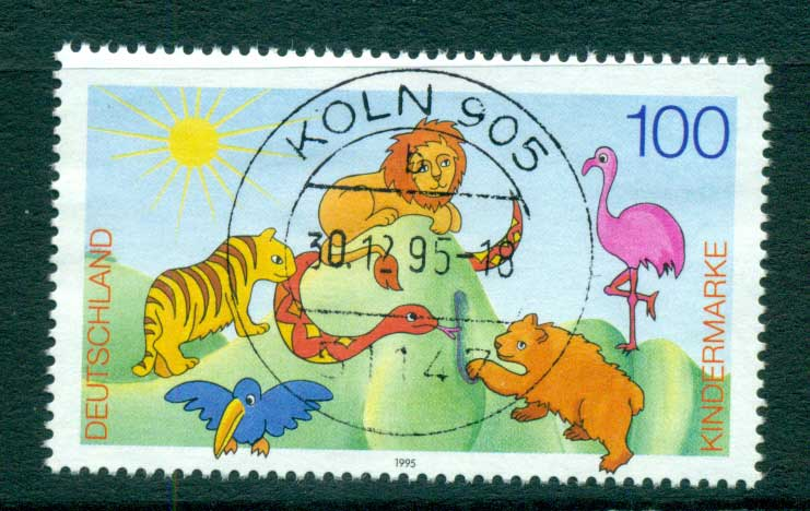 Germany 1995 For the Children FU lot63411