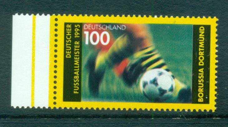 Germany 1995 Soccer Champions MUH lot63415