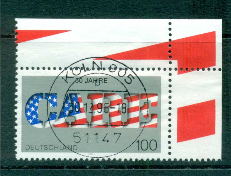 Germany 1995 CARE FU lot63419