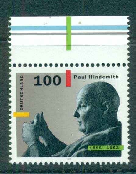 Germany 1995 Paul Hindemith MUH lot63420