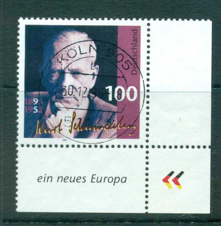 Germany 1995 Kurt Schumacher FU lot63425