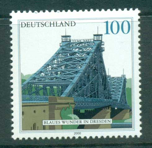 Germany 2000 Blue Wonder Bridge MUH lot63728