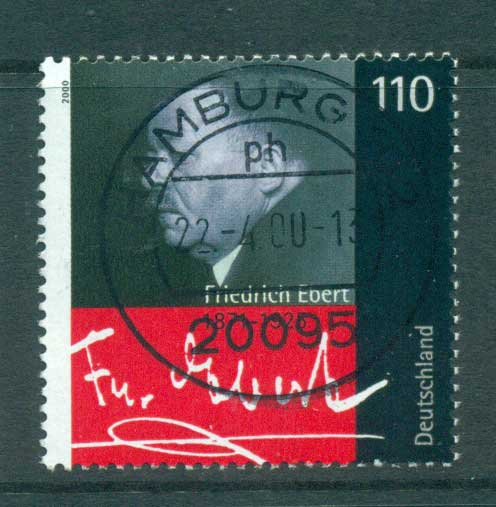 Germany 2000 Friedrich Ebert FU lot63737