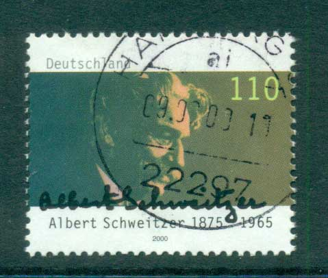Germany 2000 Albert Schweitzer FU lot63741
