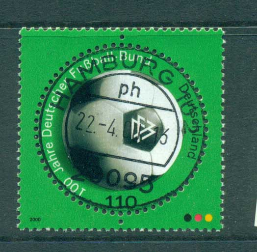 Germany 2000 German Soccer Assoc. FU lot63743