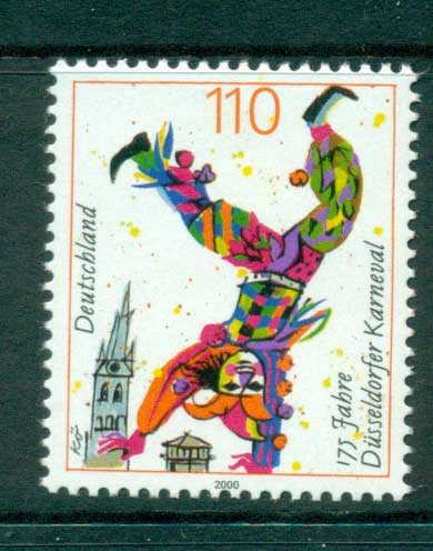 Germany 2000 Dusseldorf Carnival MUH lot63746
