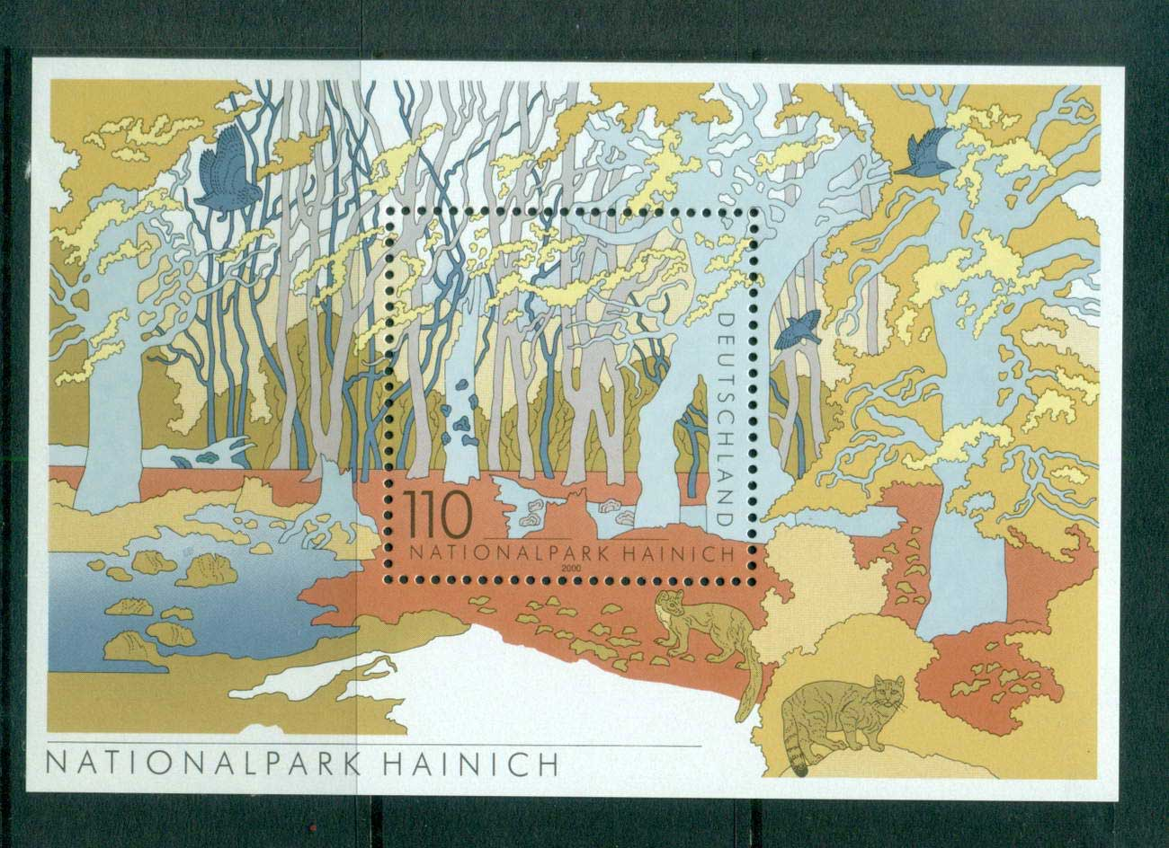 Germany 2000 Hainich National Park MS MUH lot63750