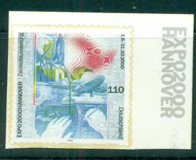 Germany 2000 Expo Hanover ex Booklet P&S MUH lot63755