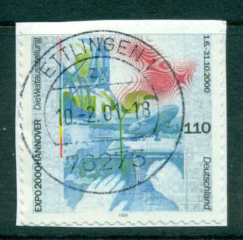 Germany 2000 Expo Hanover ex Booklet P&S FU lot63756