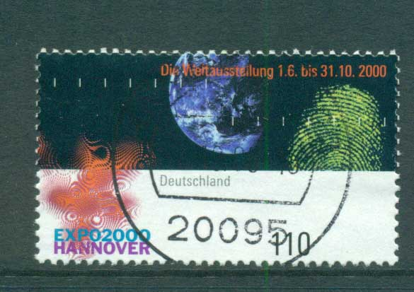 Germany 2000 Expo Hanover FU lot63759 - Click Image to Close