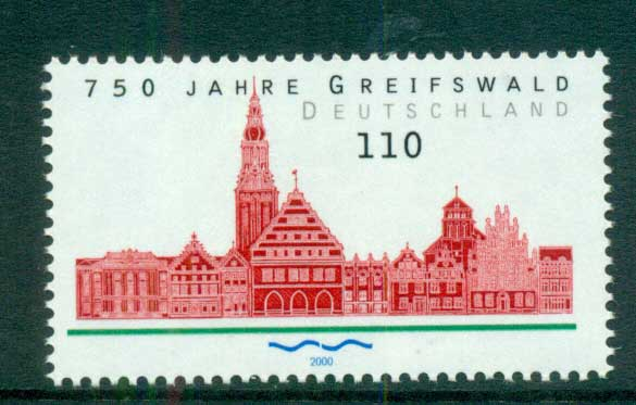 Germany 2000 Griefswald MUH lot63760