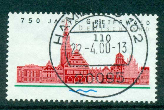 Germany 2000 Griefswald FU lot63761