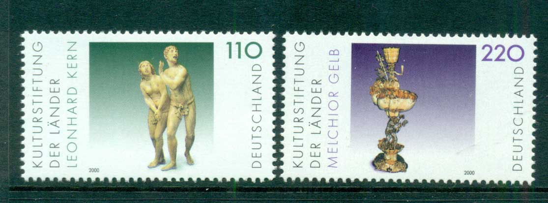 Germany 2000 Cultural Foundations MUH lot63762