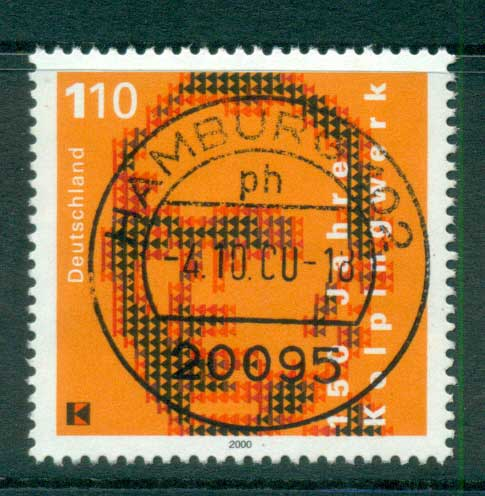 Germany 2000 Adolph Kolping FU lot63775