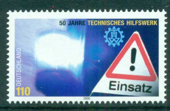 Germany 2000 Disaster Relief MUH lot63782