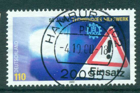 Germany 2000 Disaster Relief FU lot63783