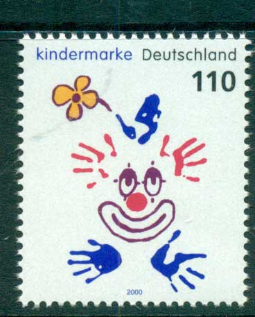 Germany 2000 For the Children MUH lot63798