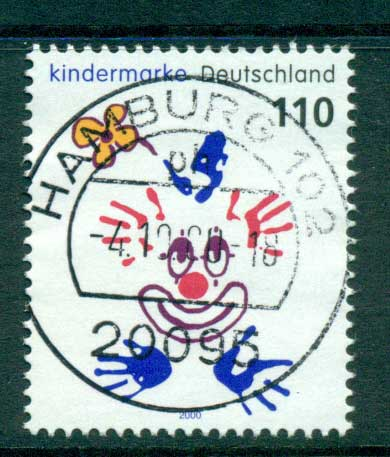 Germany 2000 For the Children FU lot63799