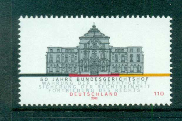 Germany 2000 Court of Jusice MUH lot63802