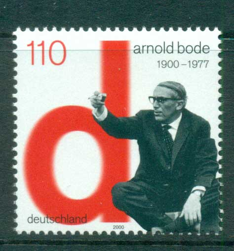 Germany 2000 Arnold Bode MUH lot63806
