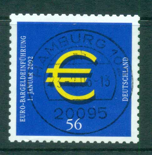 Germany 2002 Introduction of the Euro P&S FU lot63851