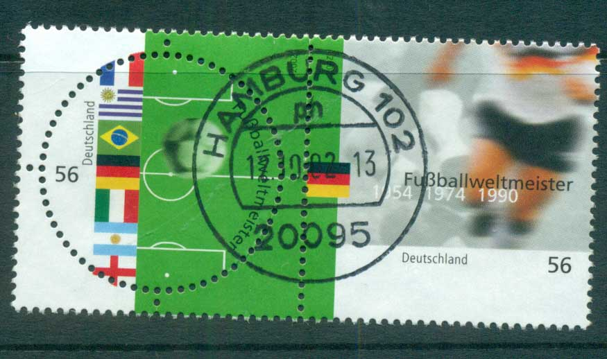 Germany 2002 World Cup Soccer pr FU lot63852