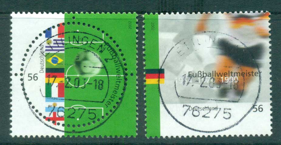 Germany 2002 World Cup Soccer FU lot63853