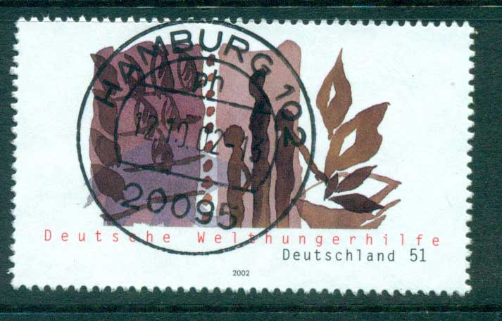 Germany 2002 World Hunger help FU lot63886