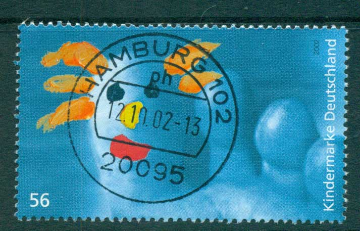 Germany 2002 For the Children FU lot63891