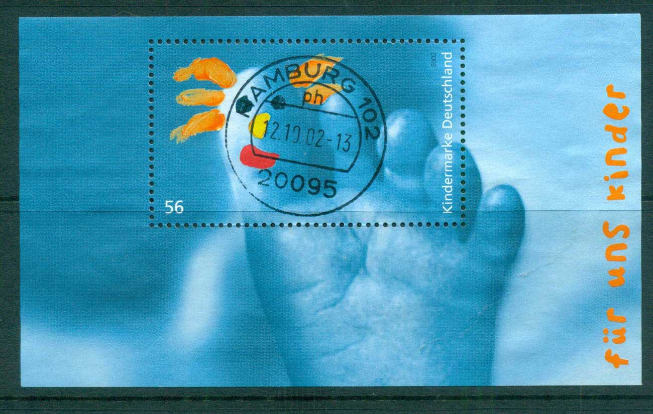 Germany 2002 For the Children MS FU lot63892