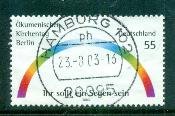 Germany 2003 Eucemenical Church Conference FU lot63918