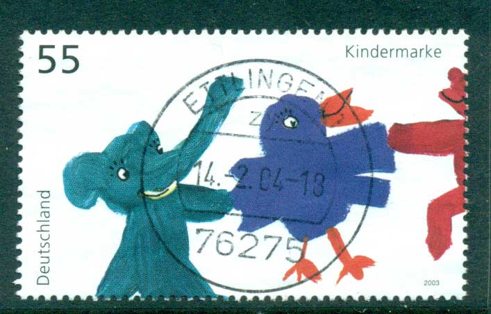 Germany 2003 For the Children FU lot63926