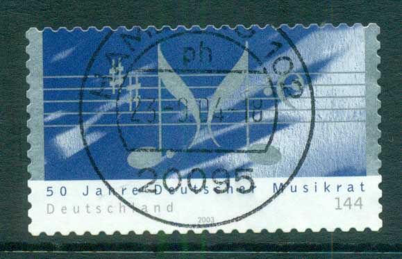 Germany 2003 Music Council P&S FU lot63940