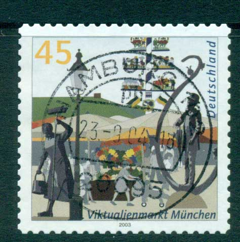 Germany 2003 Buildings P&S FU lot63944