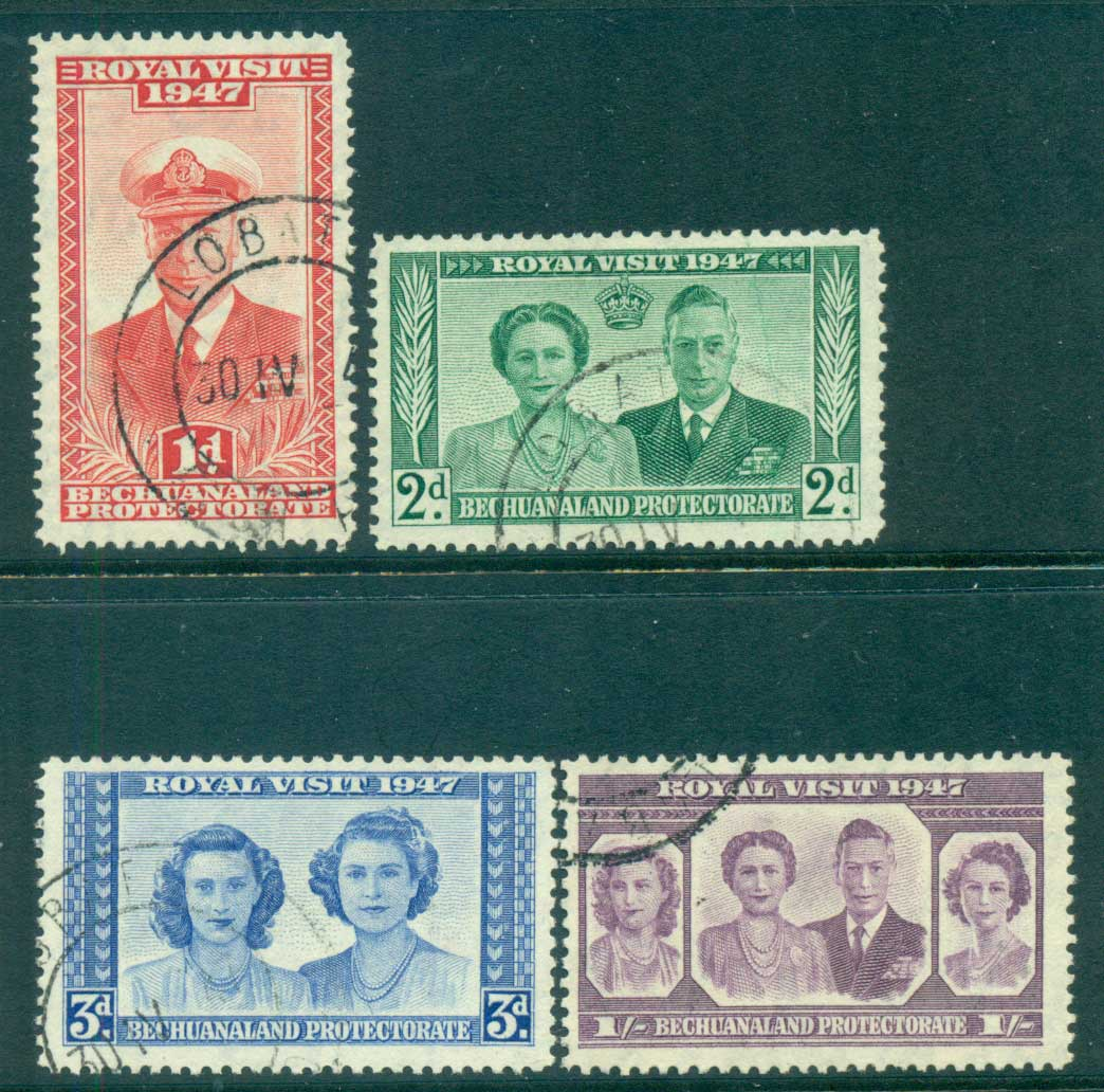 Bechuanaland Protectorate 1947 Royal Visit FU lot62149