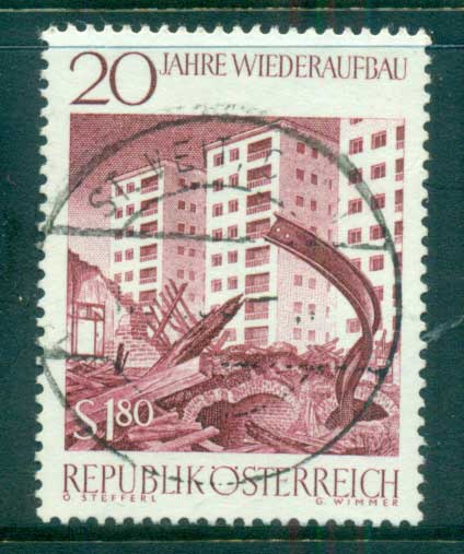Austria 1965 20 year of Reconstruction FU lot62265