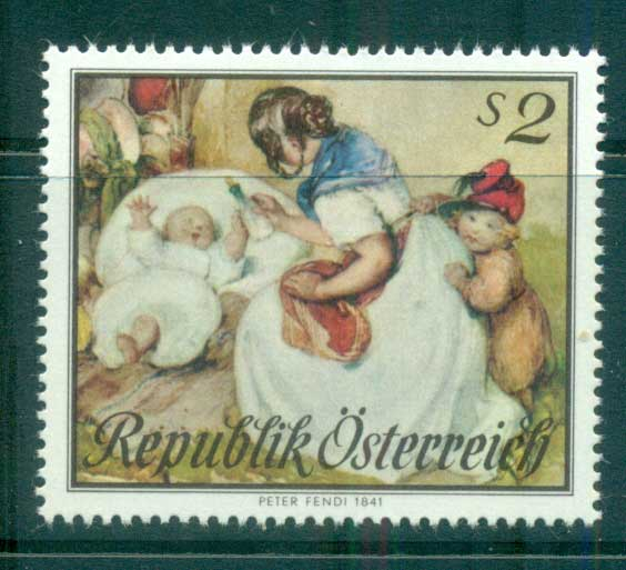Austria 1967 Mothers Day MUH lot62303 - Click Image to Close
