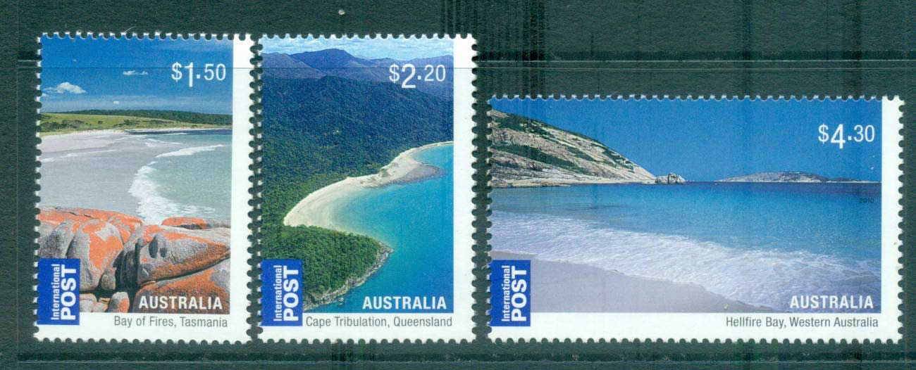 Australia 2010 Australian Beaches Internationals MUH lot62929